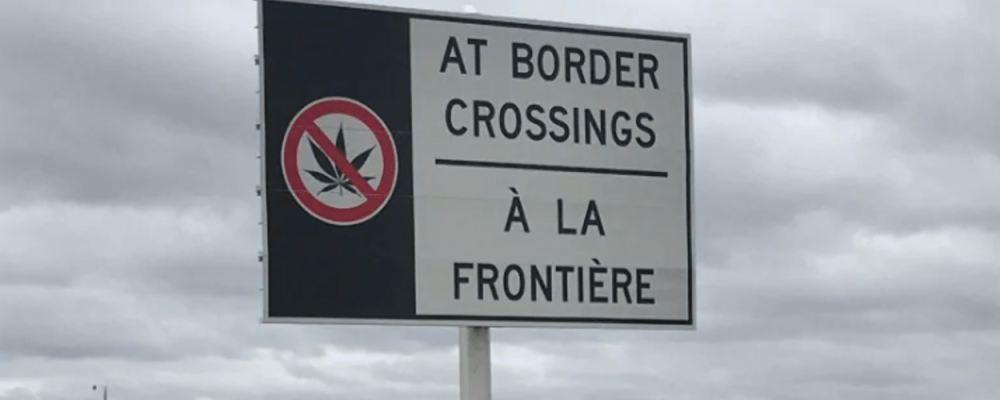 Marijuana : quelles sont les règles à la frontière américaine?